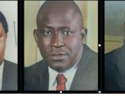 Yau Gimba Kumo (C) is wanted, alongside Mr. Tarry Rufus and Mr. Bola Ogunsola. Credit: ICPC