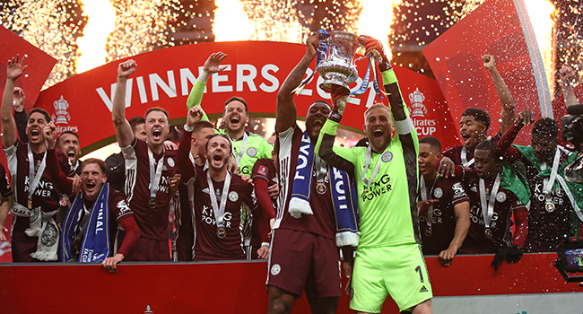 Leicester Win FA Cup For First Time After Tielemans Screamer