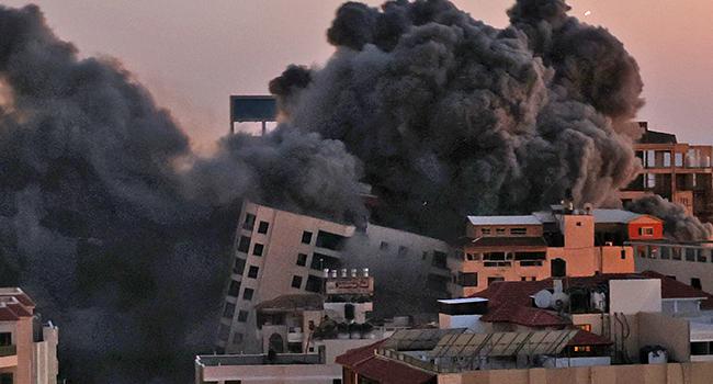 Five Members Of Gaza Family Perish In Israeli Strike