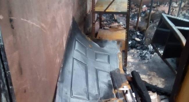 Fire Guts INEC Office In Enugu