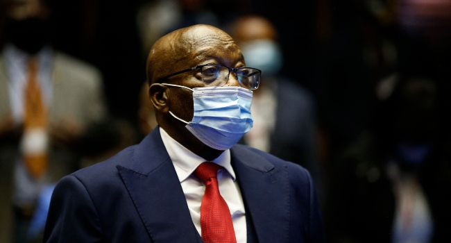 S.Africa Police Won't Arrest Zuma Until Legal Challenge Is Over
