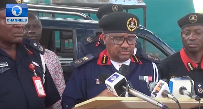 NSCDC Arrests Four Rail Vandals In Kaduna
