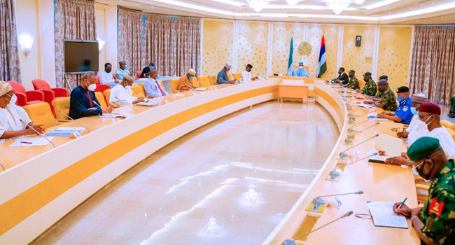 Buhari Presides Over Another Security Meeting