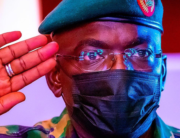 A file photo of the Chief of Army Staff (COAS), Lieutenant General Ibrahim Attahiru.