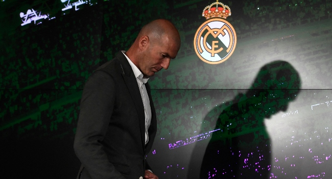 Zidane Resigns As Real Madrid Manager