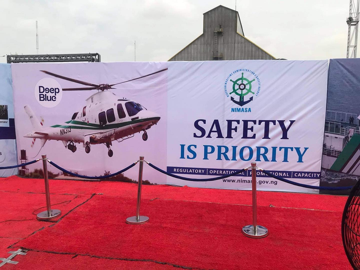 Buhari Flags Off Deep Blue Project In Lagos