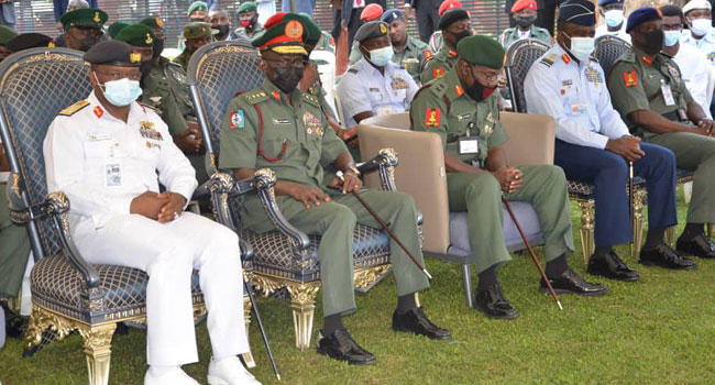 Nigerian Army Observes 40th Day Prayer In Honour Of Late Lt-Gen Attahiru, 10 Others