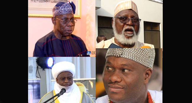 Obasanjo, Ooni, Other Leaders Meet In Abuja