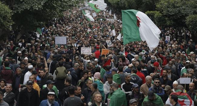 Timeline: Algeria's Anti-Government Protests