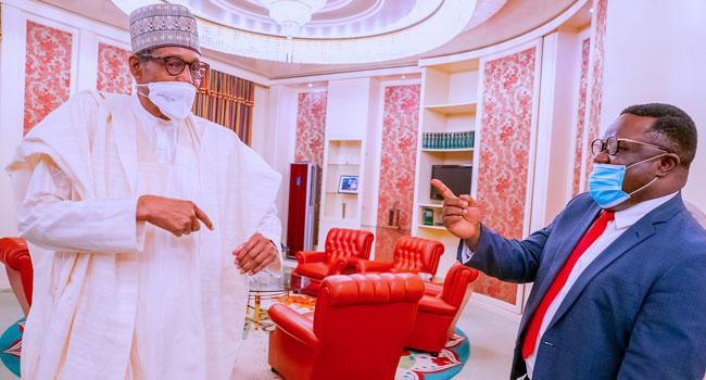 Ayade Pays First Visit To Buhari As APC Governor