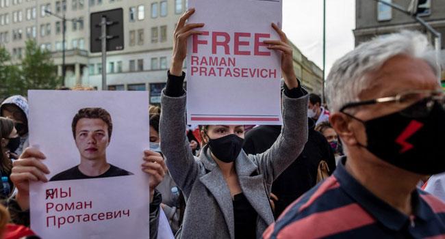 Belarus Activist Returned To Jail After Stabbing Himself In Court