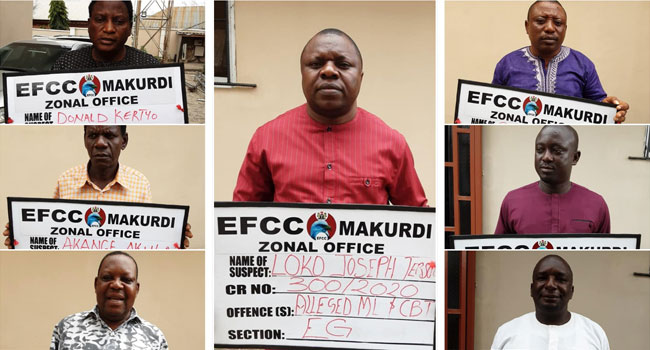 Benue Electoral Commission Chairman, Others Arraigned For N500m Fraud