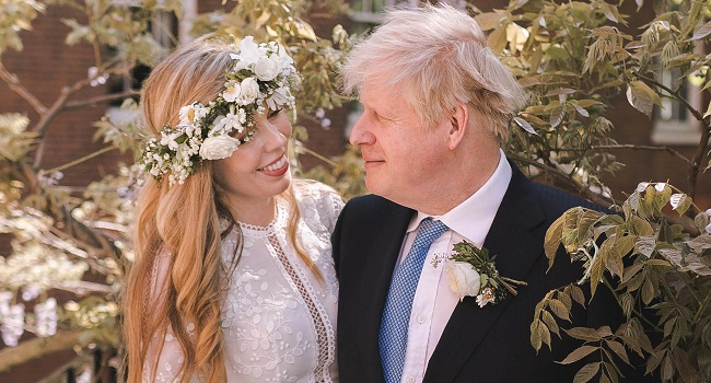 Boris Johnson Weds Fiancée In 'Secret' Weekend Ceremony