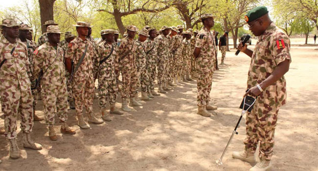 Be Decisive And Alert In Countering Insurgency, COAS Tells Troops
