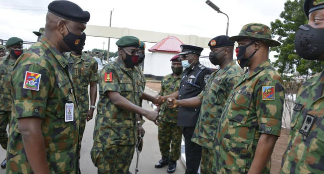 PHOTOS: COAS Visits Imo, Lauds Troops' Resilience In Restoring Security