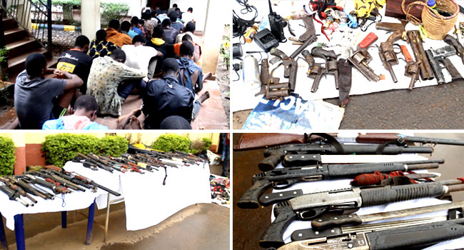 Suspected IPOB Members, Others Arrested Over Attacks On Police, INEC Facilities In Ebonyi