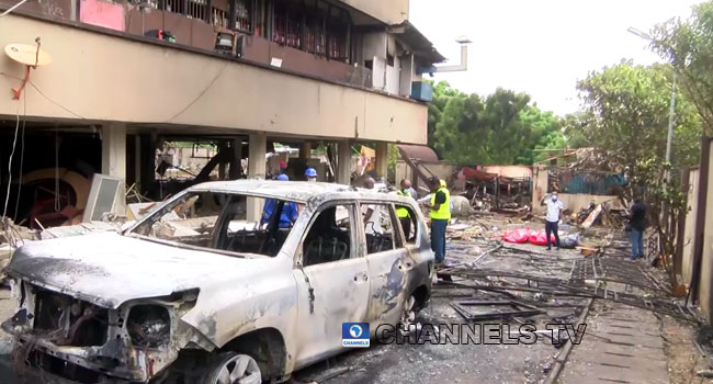 Lagos Gas Explosion: Death Toll Increases To Five, 11 Others Injured