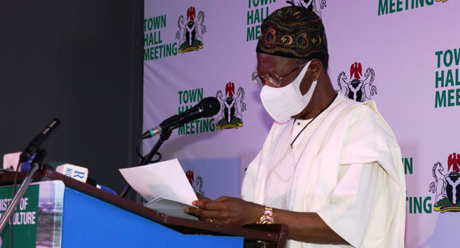 Destruction Of Infrastructure Is Not Just Vandalism, It Is A Form Of Terrorism – Lai Mohammed