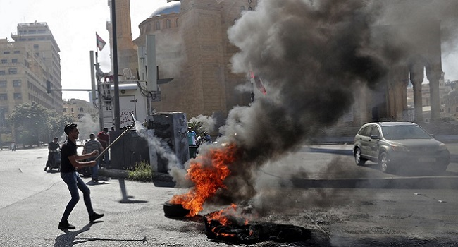 Lebanon Protests Leave Nearly 20 Wounded – Charity
