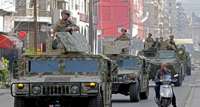 Lebanon Too Broke To Pay Soldiers Enough, Army Warns Ahead Of Donor Meet