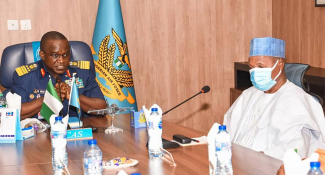 Masari Commends NAF's Responsiveness In Fight Against Banditry