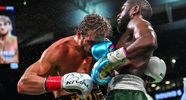 Mayweather Dominates Exhibition Match, Fails To Knockout YouTuber Paul