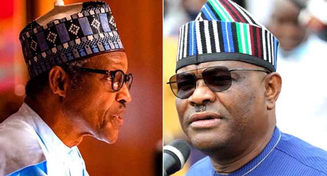VIDEO: 'You Are In Charge', Wike Asks Buhari To Take Responsibility For Nigeria's Security