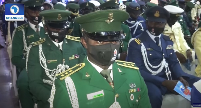 National Security: 235 Military Officers Get Counter-Terrorism Training