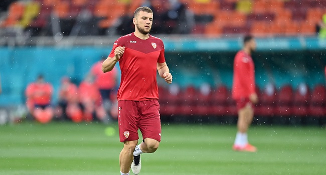 UEFA Rejects Greek Protest Over North Macedonia Shirt