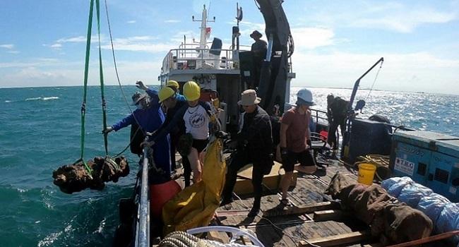 Centuries-Old Shipwrecks Found Off Singapore