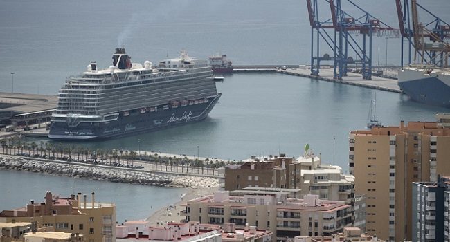 First International Cruise Ship Docks In Spain After Ban Lifted