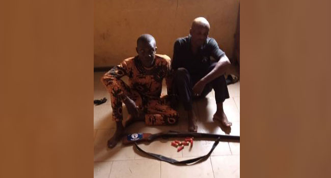 Police Arrest Hunters In Unlawful Possession Of Firearm, Recover Live Cartridges