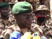 The Chief of Army Staff, Major-General Farouk Yahaya addressed reporters in Damaturu, Yobe state on June 26, 2021.