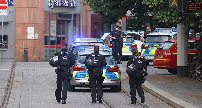 Man With Knife Kills Several People In German City Of Wuerzburg