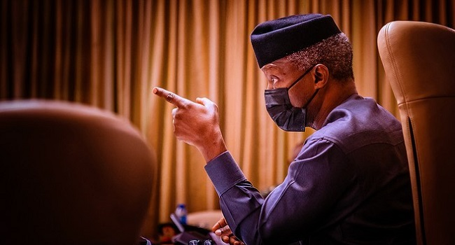 Those Waiting For Nigeria To Break Will Be Sorely Disappointed – Osinbajo
