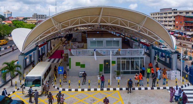 Lagos Govt Commissions Yaba Bus Terminal, Four Years After Project Conception