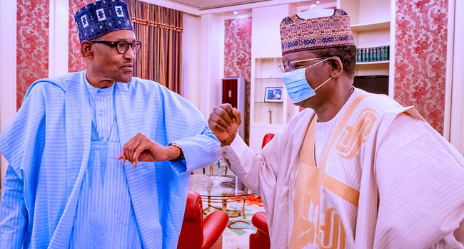 Buhari Welcomes Matawalle To APC, Says Ruling Party Performance Makes It Popular