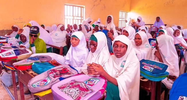 Zamfara First Lady Flags Off Girl Child Education Project