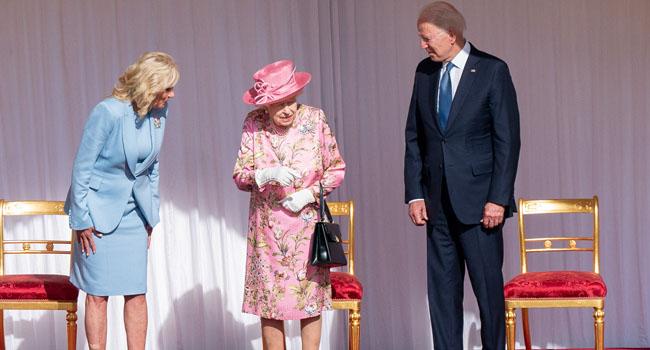 Biden Takes Tea With The Queen In Maiden Overseas Trip As President