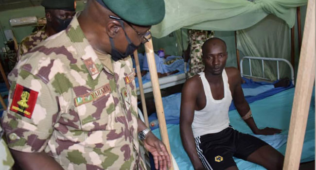 Your Medicare Is Of Utmost Importance To Me, COAS Assures Wounded Soldiers