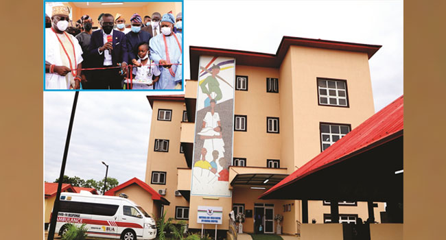 Jubilation In Epe As Sanwo-Olu Delivers Another 110-Bed Maternity Hospital