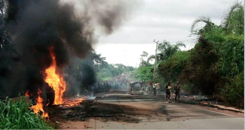 Five Die, Two Injured As Fuel Tank Explodes In Ogun
