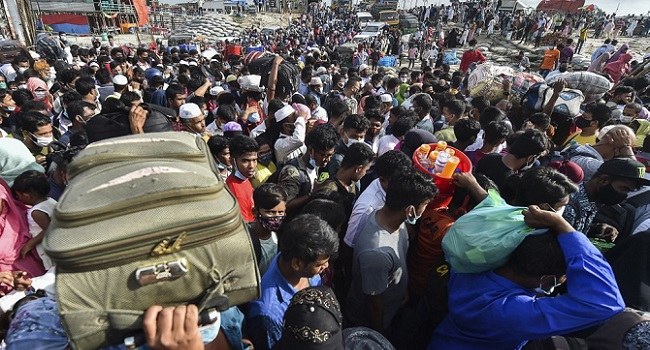 Thousands Stranded In Bangladesh Ahead Of COVID-19 Lockdown