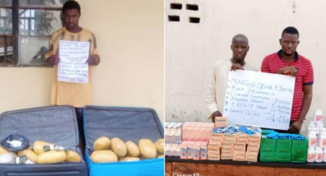 NDLEA Arrests Two Bandits' Drug Suppliers In Kwara, Seizes 24kg Diazepam, Codeine