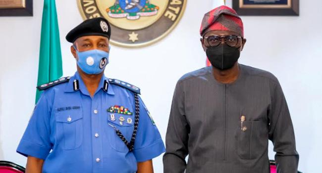PHOTOS: IGP Visits Governor Sanwo-Olu In Lagos