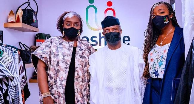 Osinbajo Launches Kemi Adeosun's 'Dash Me' Foundation