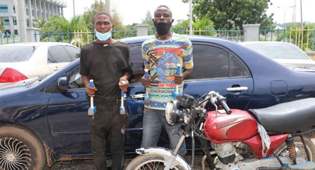 Police Arrest Suspected Armed Robbers, Recover Exhibits