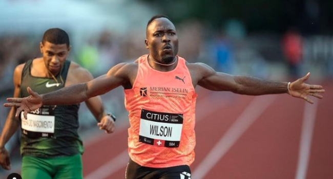Swiss Sprinter Wilson Fails Doping Test, Suspended From Olympics