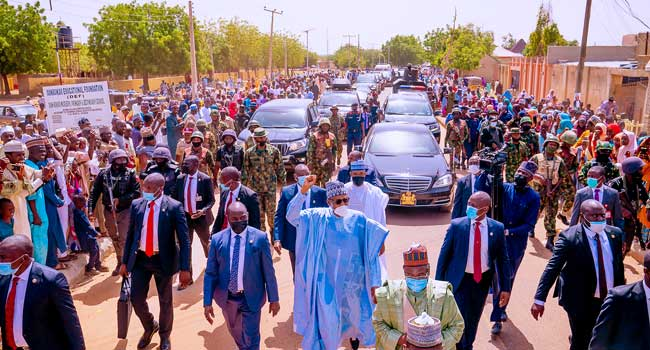 Insecurity: Fish Out Enemies Of Peace, Buhari Appeals To Nigerians