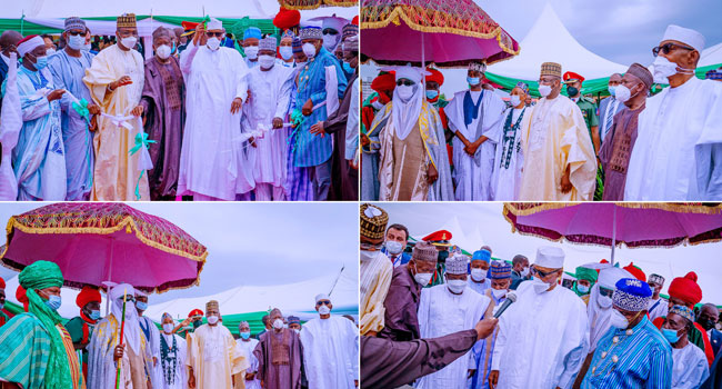 PICTORIAL: Imbibe The Culture Of Completing Projects, Buhari Tells Governors